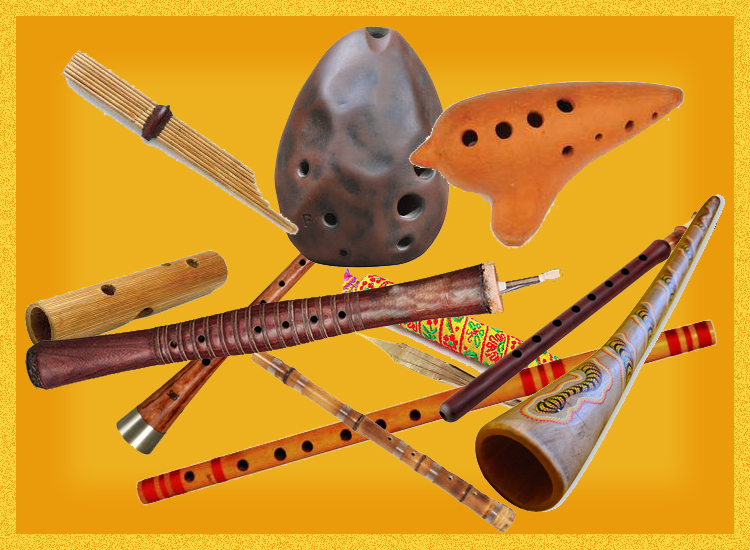 10 outstanding Ethnic Woodwind Instruments