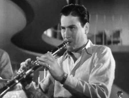 Artie Shaw Playing