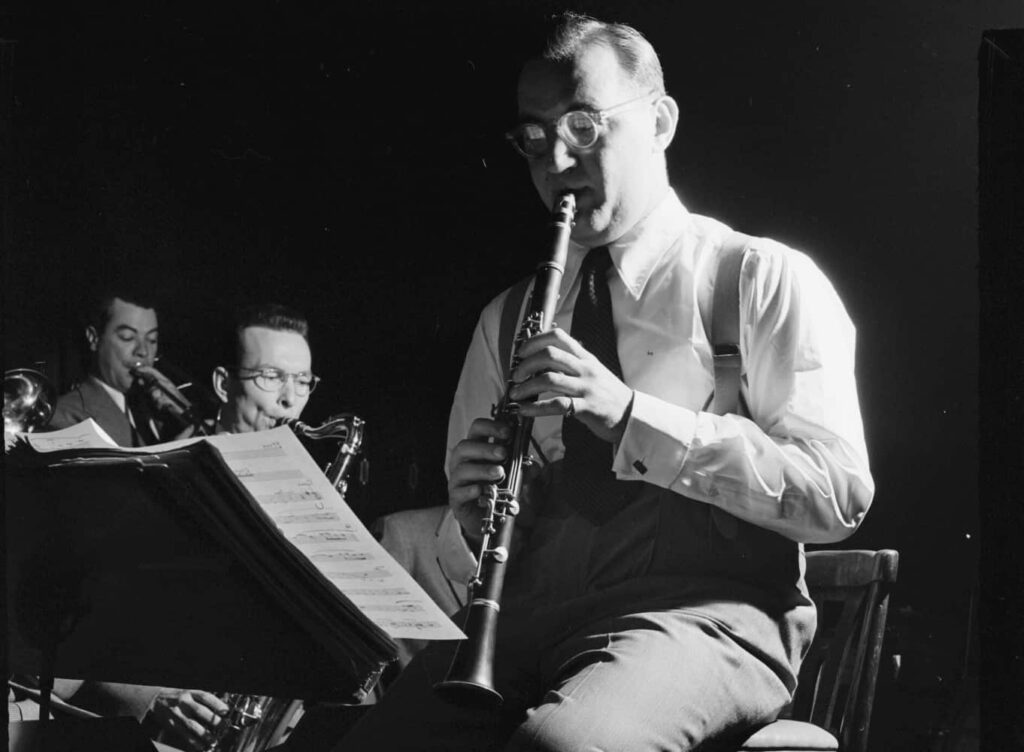 Portrait Of Benny Goodman, 400 Restaurant, New York, N.y., Ca. July 1946