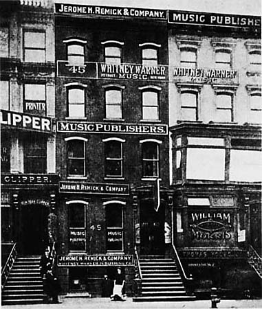 Tin Pan Alley became a melting pot for culture and musical tastes, despite racial lines, and although limitations still existed, the art of the music was still able to emerge!