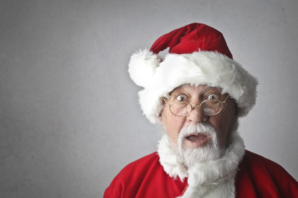 Man In Santa Claus Costume 716658