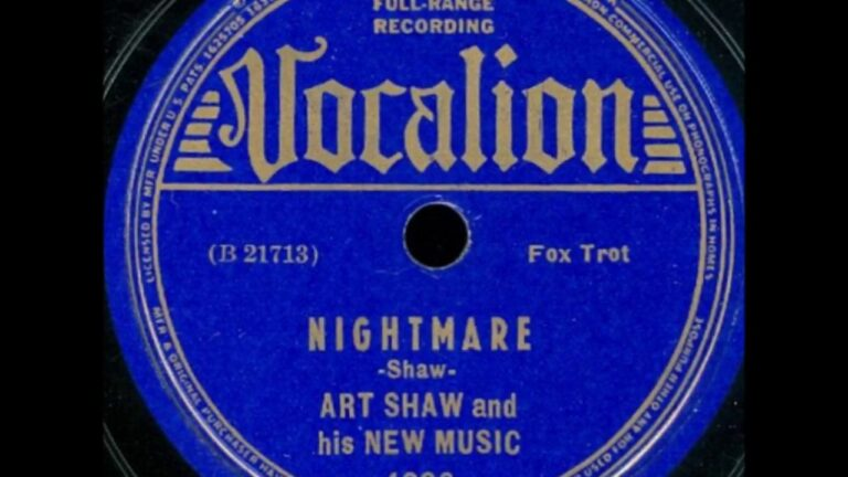 Awesome Artie Shaw Songs and Selected Discography