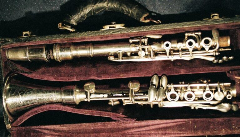 The Vintage Silver Clarinet Story