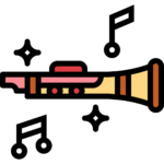 clarinet musical png