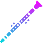 colorful clarinet 2 png