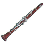 wood clarinet png
