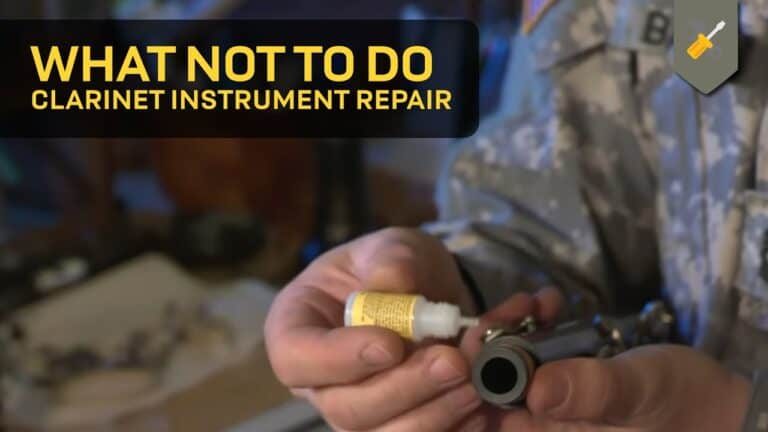 What Not To Do: Clarinet Instrument Repair
